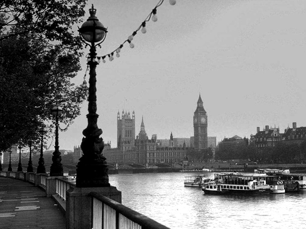 Houses of Parliament and the Thames - Aviator Journal