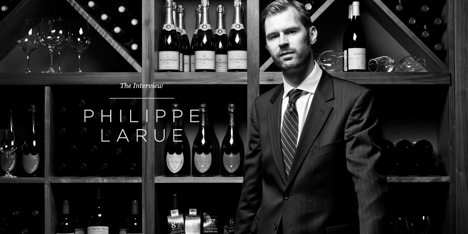 Philippe Larue in the Aviator Brasserie