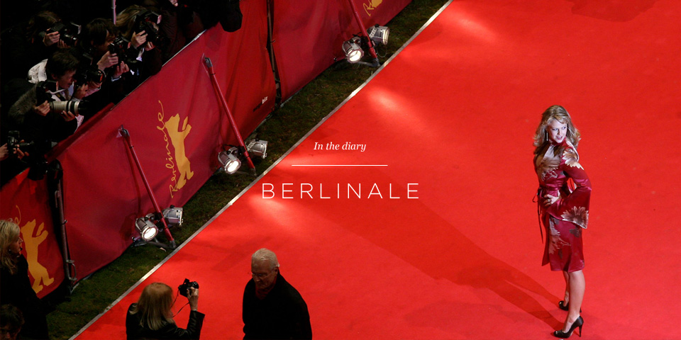 The red carpet at Berlinale