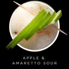 Apple & Amaretto Sour